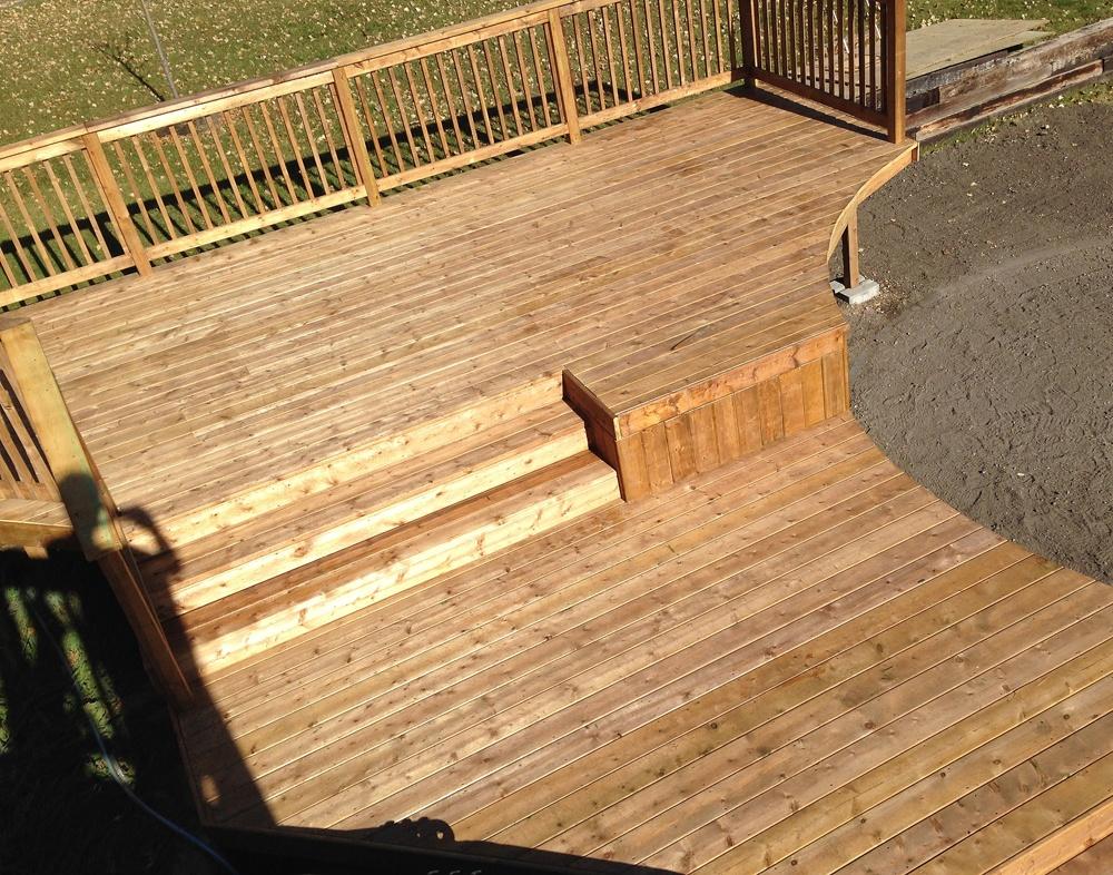 Livingstone Landscaping Ltd Fences Decks Amp Wood Work